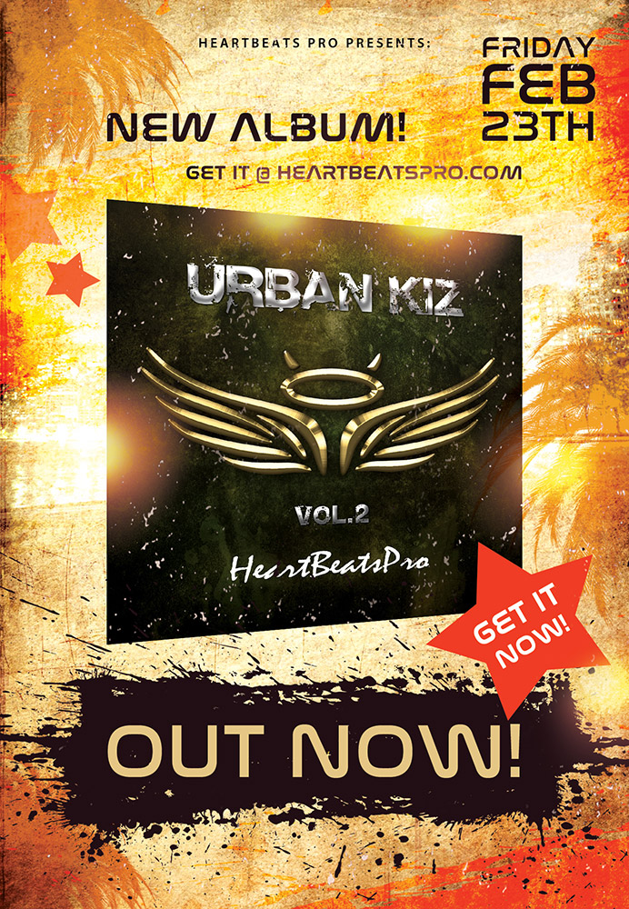 Flyer Urban Kiz, Vol. 2 Released!
